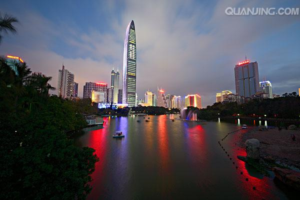 中国最有实力赶超上海的城市 腾讯华为从这里起家