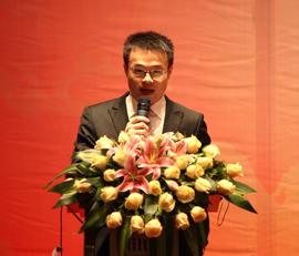 经传信息科技有限公司总经理谢达亮致辞